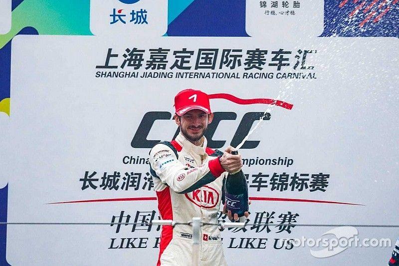 Alex Fontana sbanca e si aggiudica in Cina la finale del CTCC