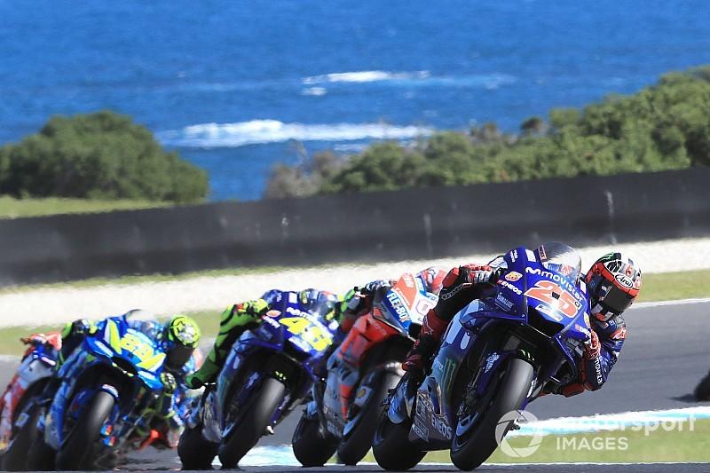 Viñales bota fim a jejum da Yamaha; Márquez é acertado por Zarco
