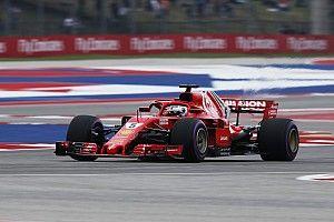 Los Ferrari dominan los libres 3 de Estados Unidos