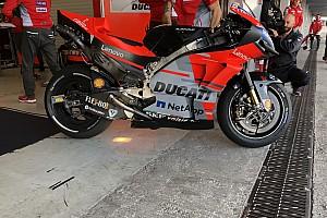Ducati vuelve a la carga con la aerodinámica