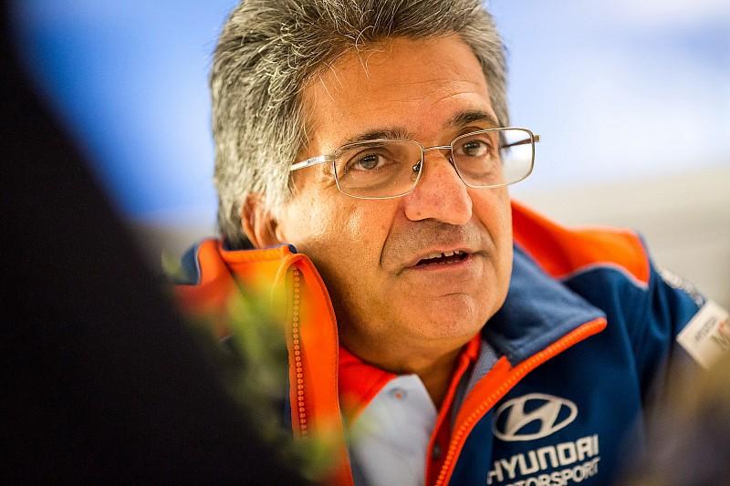 Hyundai cambia su jefe equipo en el WRC