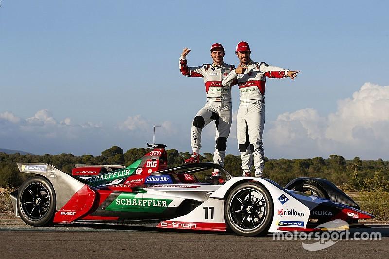 A címvédő csapat válasza a Gen2-es kocsikra: Audi e-tron FE05 a Formula E-ben
