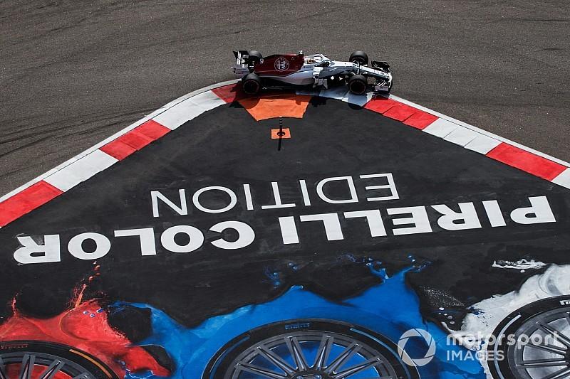 Fotostrecke: Der Alfa Romeo Sauber im Großen Preis von Russland