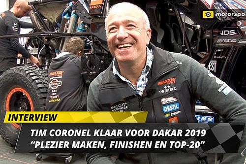 Interview: Coronel mikt op plezier, finishen en top-twintig in Dakar 2019