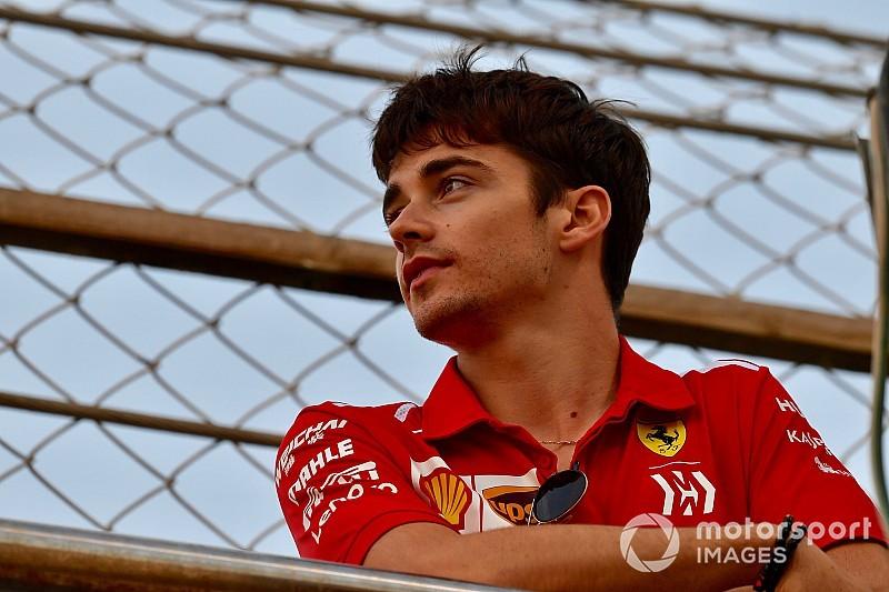 """Leclerc si gode la """"prima"""" da ferrarista: """"Che giornata emozionante, è un sogno diventato realtà!"""""""