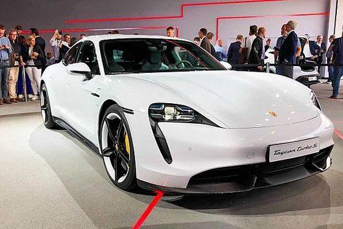 Porsche Taycan 2020 estreia como super sedã elétrico de até 761 cv