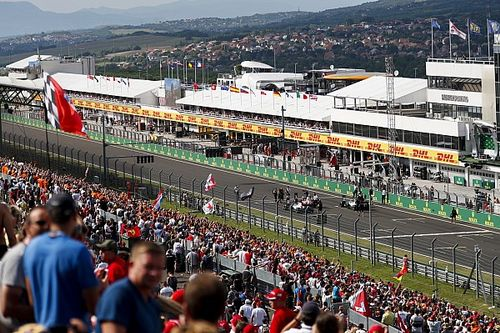GALERI: Suasana dan aksi kualifikasi GP Hongaria