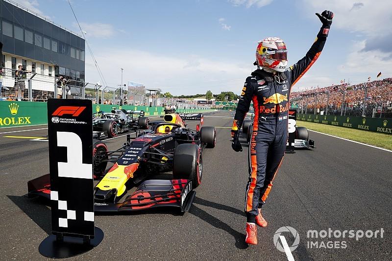 Verstappen logra su primera pole position en la F1