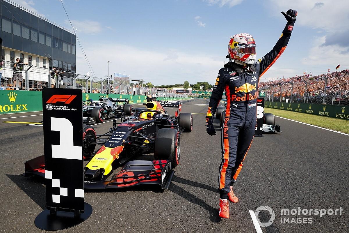 """Verstappen, pole position con le ali: """"La Red Bull oggi volava!"""""""