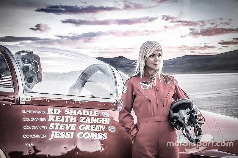 Muere la norteamericana Jessi Combs en intento de récord de velocidad