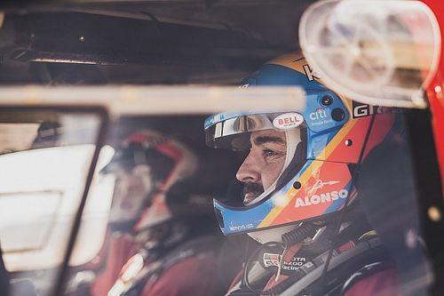 """Alonso: """"Las dunas son lo que más me ha gustado; seguimos aprendiendo"""""""