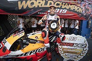 Galeri: Marquez'in şampiyonluk kutlaması
