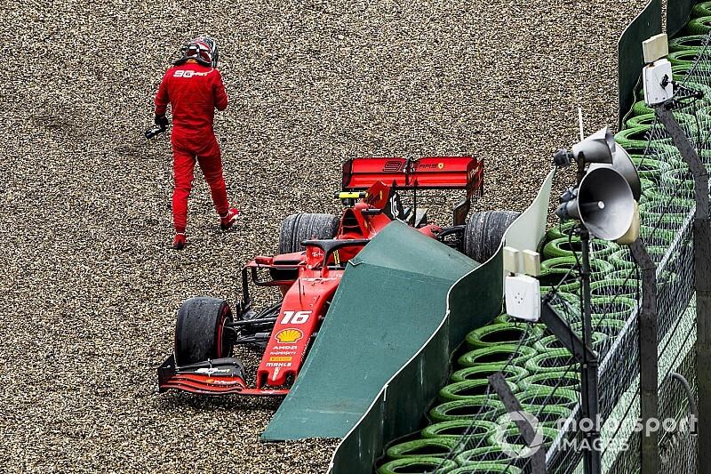 """Leclerc: """"Nagyon sokat hibáztam, Vettel még erősebb nálam a futamokon, és Brazília nem fog megismétlődni"""""""