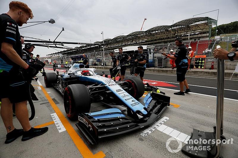 Macaristan'da en hızlı pit stopu Williams yaptı