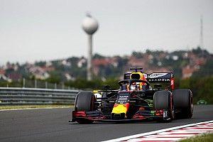 F1ハンガリーFP1速報:ハミルトン首位。レッドブル・ホンダのフェルスタッペン2番手