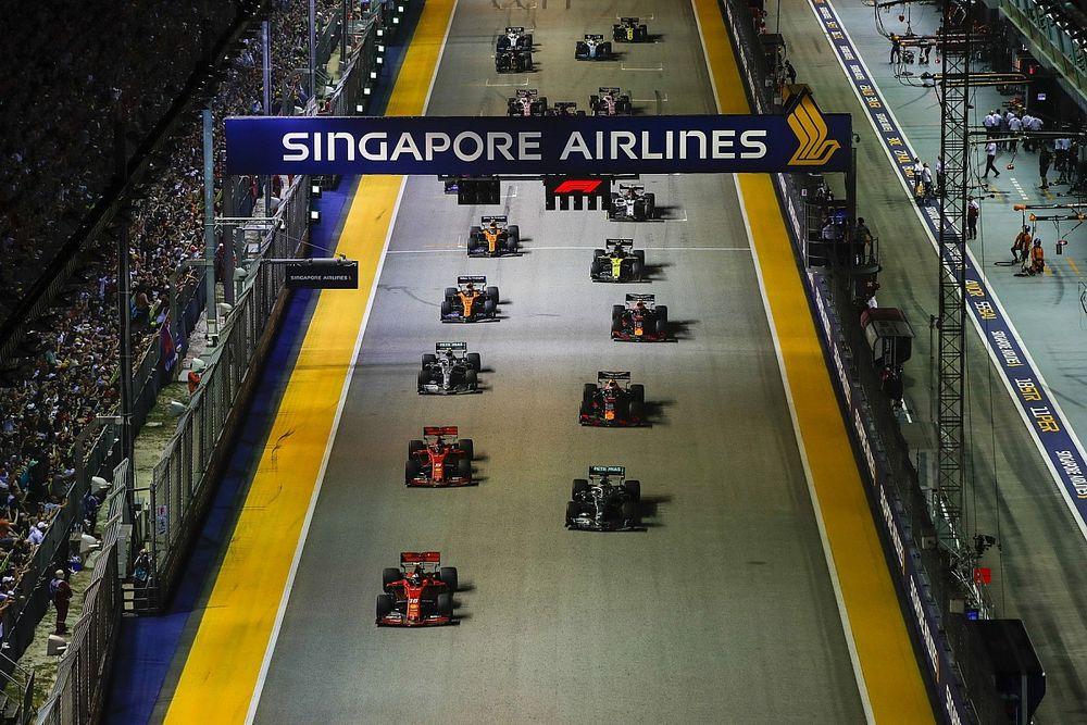 Singapur sigue confiando en acoger a la F1 2020