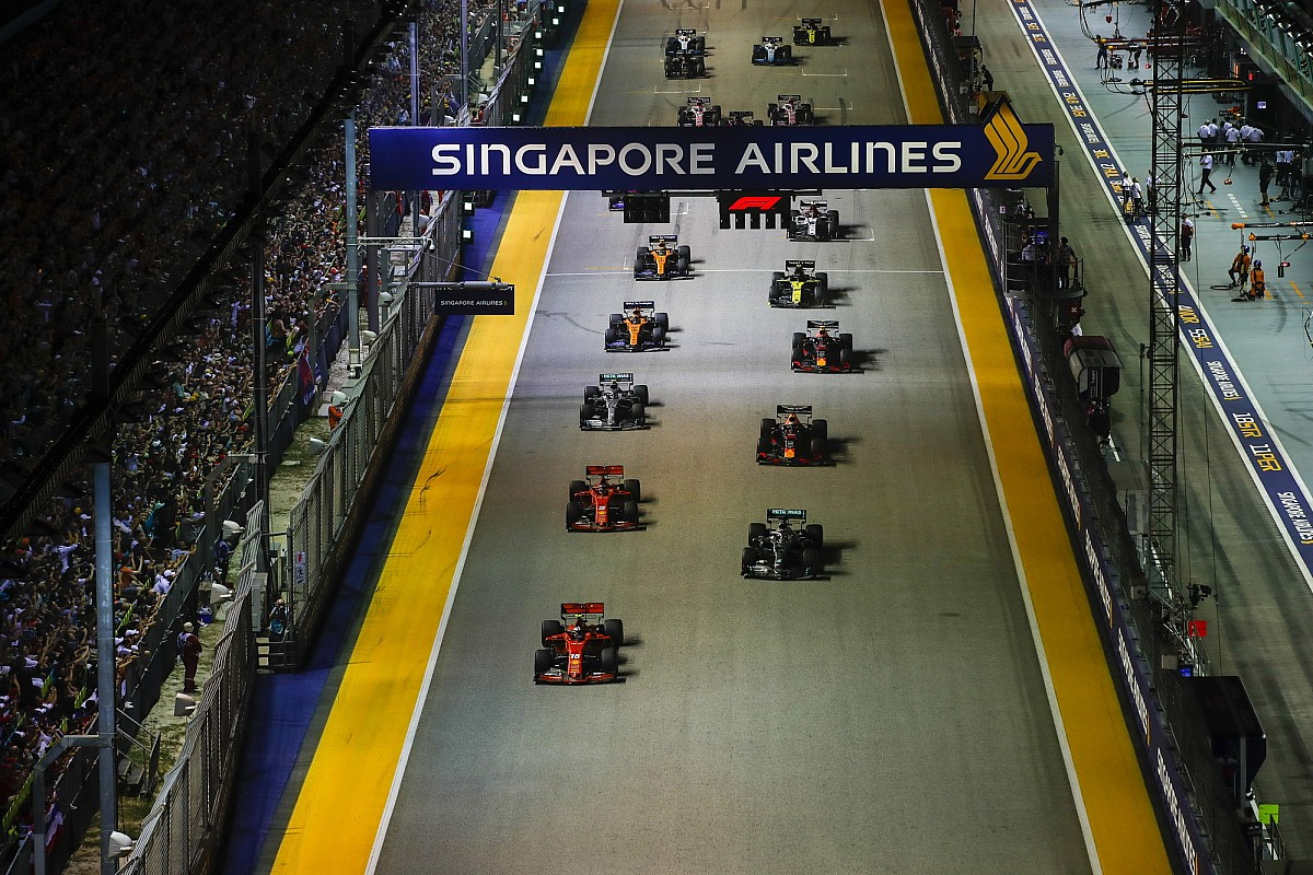 "Singapore GP in ""open dialogue"" with F1 over 2020 race"