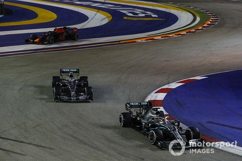 ¿Cuánto ralentizó Mercedes a Bottas para que no pasara a Hamilton?