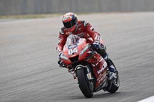 MotoGP, Brno, Libere 1: Dovizioso precede Marquez, Rossi decimo