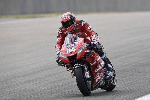Довициозо стал быстрейшим в первой тренировке MotoGP в Брно