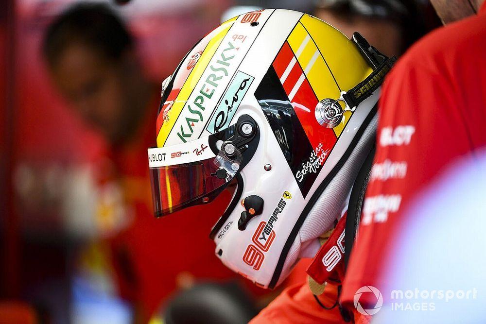 El campeón al que Vettel homenajea con su casco en Hockenheim