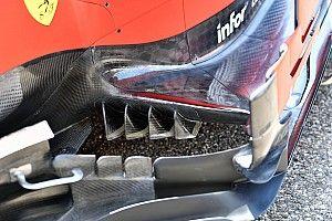 Formel-1-Technik: Detailfotos beim GP Deutschland