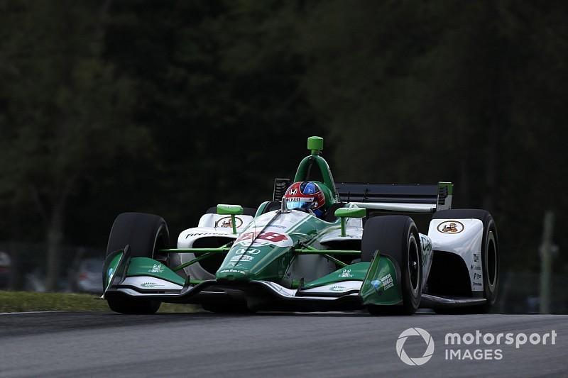 Mid-Ohio IndyCar: Herta top again in third practice