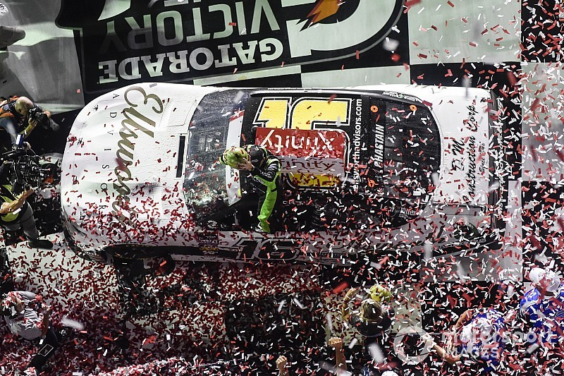 Ross Chastain wins wild Daytona Xfinity Series race