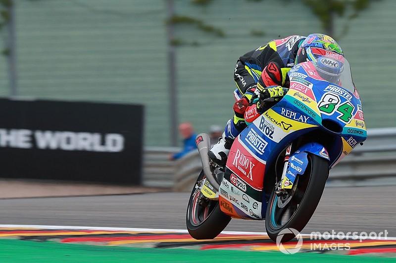 Moto3, Red Bull Ring, Libere 1: Kornfeil davanti a tre italiani