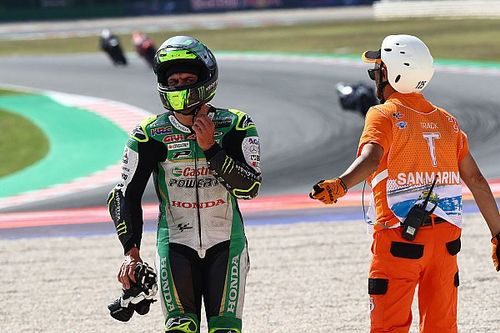 "MotoGP riders baffled by ""strange"" Misano crashes"
