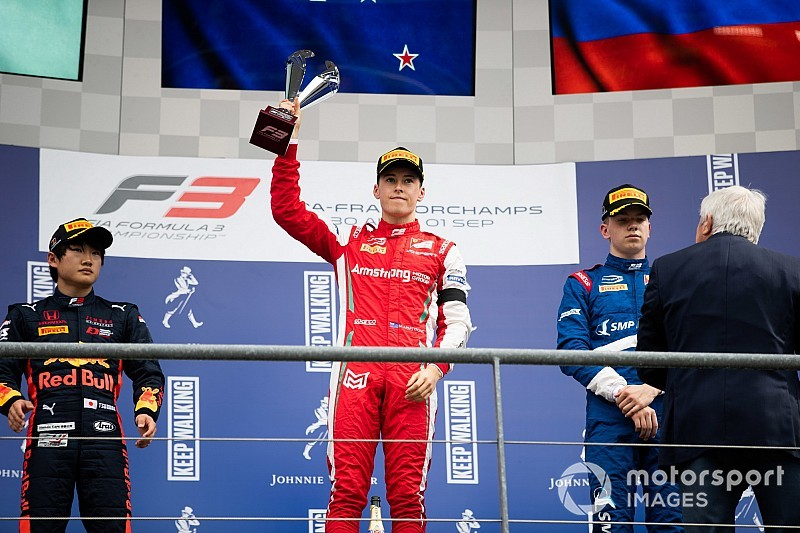 Armstrong vence en una carrera triste de la F3 en Bélgica