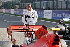 """Hamilton sobre conducir para Ferrari: """"El tiempo lo dirá"""""""