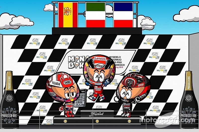 Vídeo: el GP de Austria de MotoGP, según MiniBikers