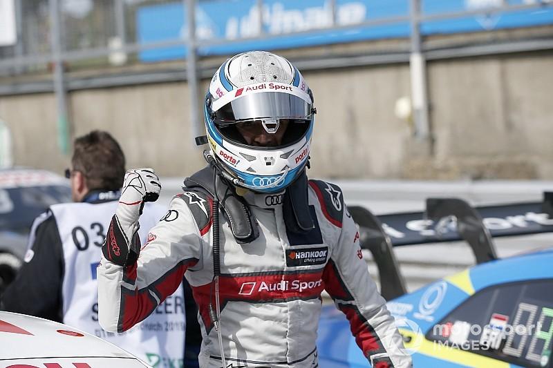 Rast logra la pole en un dominio de Audi