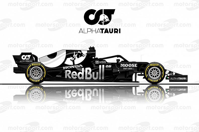 Художник предложил ливрею для переименованной Toro Rosso