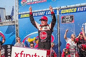 Christopher Bell cruises to New Hampshire Xfinity win over Custer