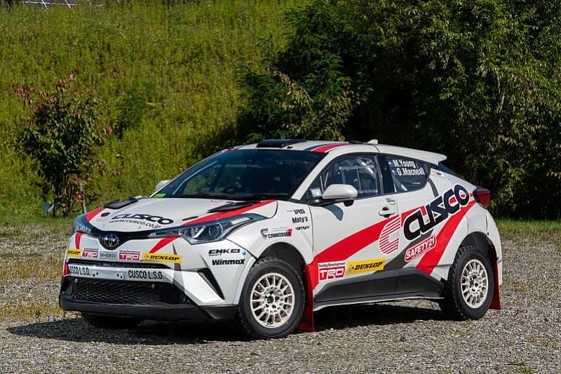 Toyota C-HR AP4 przed debiutem