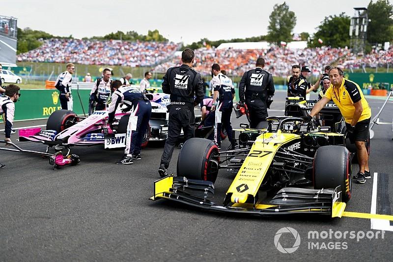 Újabb motorgondok a Renault-nál, a Magyar Nagydíjon is