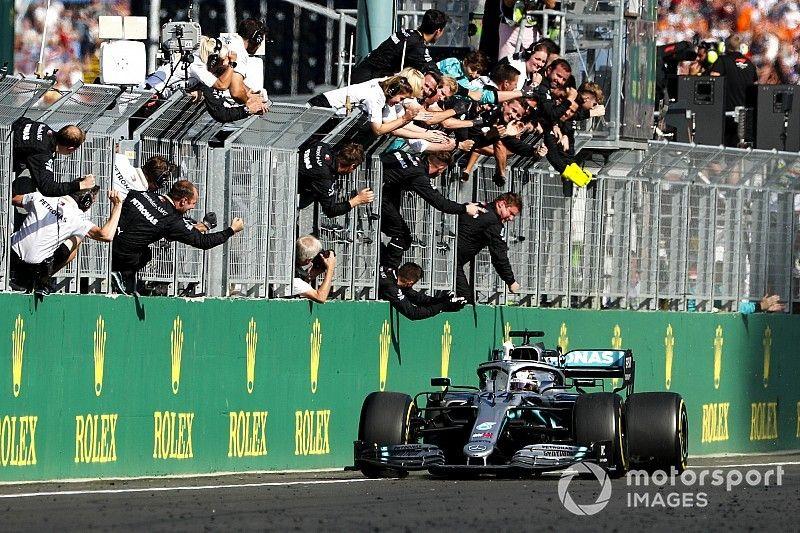 Mercedes havia descartado estratégia que deu a vitória a Hamilton na Hungria