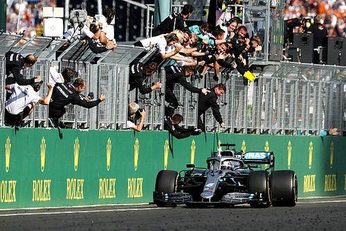Fotogallery F1: rimonta clamorosa e trionfo di Hamilton in Ungheria