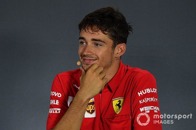 "Leclerc says he was intentionally ""on the limit"" at Monza"