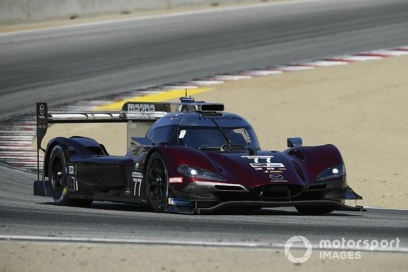 Laguna Seca IMSA: Mazda leads but Cadillacs are closer