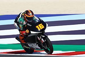 Moto3, Aragon, Libere 2: bella zampata di Migno, terzo Arbolino