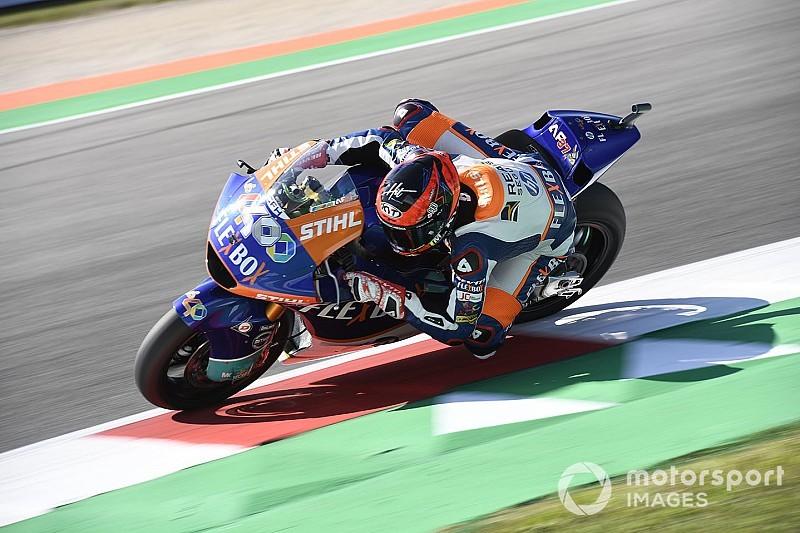 Moto2 Misano: Fernandez slaat slag in slotfase, Bendsneyder P17