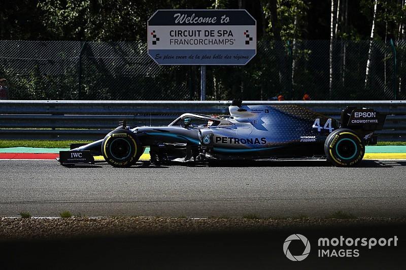 Хэмилтон усомнился в способности Mercedes догнать Ferrari в Спа