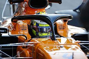 Norris pojeździ samochodem F3