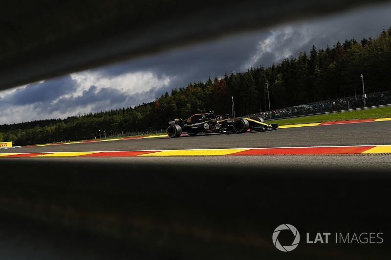 Sainz, contento con las mejoras de Renault en Bélgica