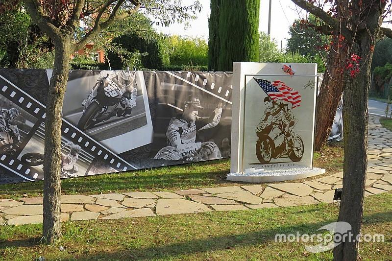 GALERÍA: el monumento en memoria de Nicky Hayden