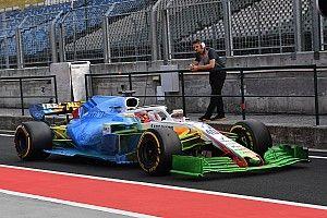 Машину Williams залили на тестах технической краской. Теперь команде советуют менять ливрею