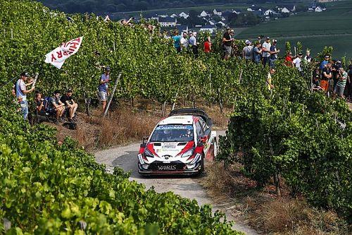 Fotogallery WRC: gli scatti più belli del Rally di Germania 2018 vinto da Ott Tanak su Toyota
